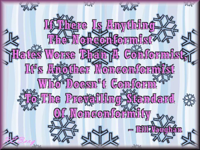 non-conforming-standard