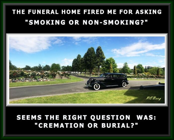 Funeral Faux Pas